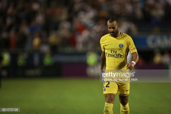PSG loans Spanish forward Jese to Stoke for rest of season