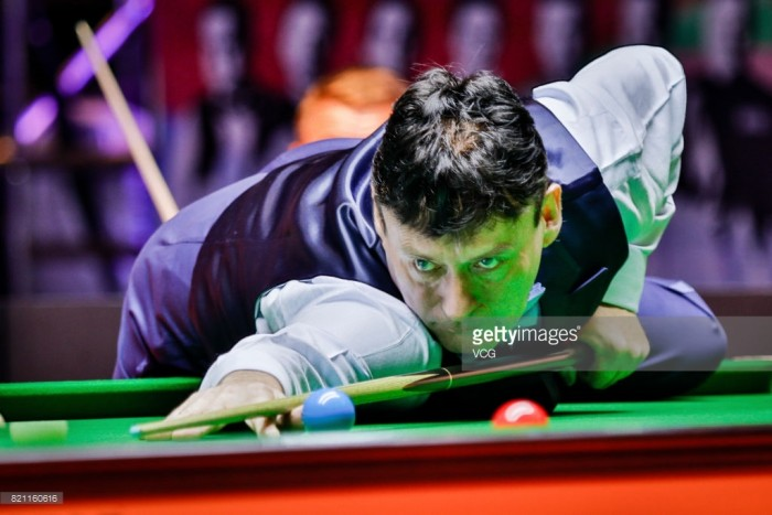 Ding Junhui and Ali Carter fall at the first hurdle in the UK Championship