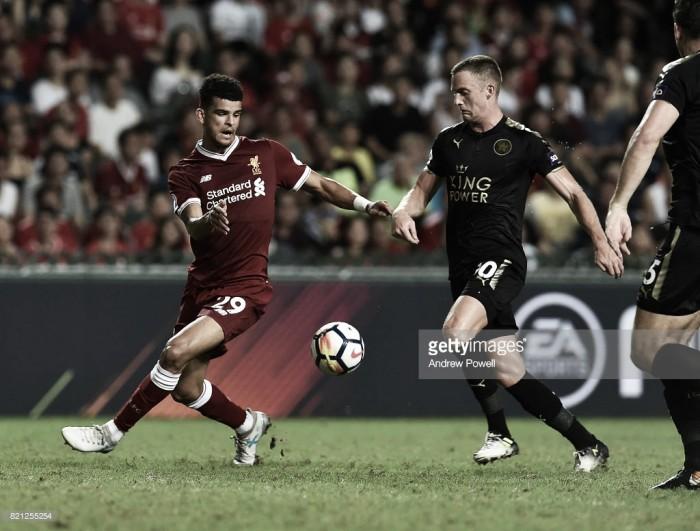 Resumen Leicester City 2-0 Liverpool een Copa Carabao 2017