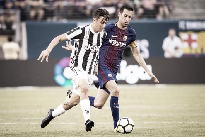 Barça e Juventus definem relacionados para estreia na Liga dos Campeões