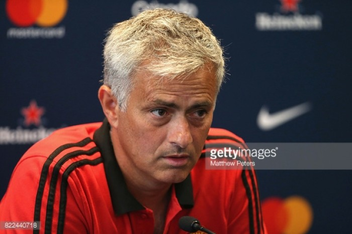 "Mourinho: Barcelona clash is the ""best way to finish"" Man Utd's USA tour"