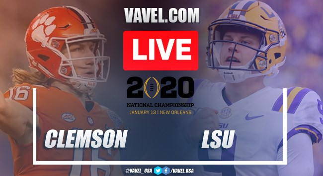 Clemson vs. LSU: LIVE Stream and Score Updates (25-42)