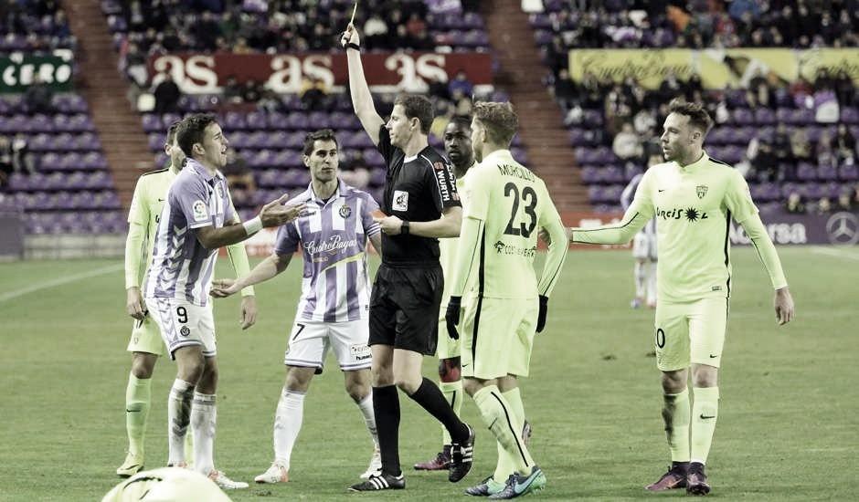 Medié Jiménez dirigirá el encuentro copero del Real Valladolid