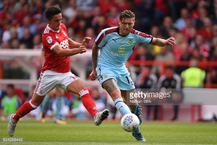Nottingham Forest 1-1 Burnley: Reds end pre-season with promise against Premier League side