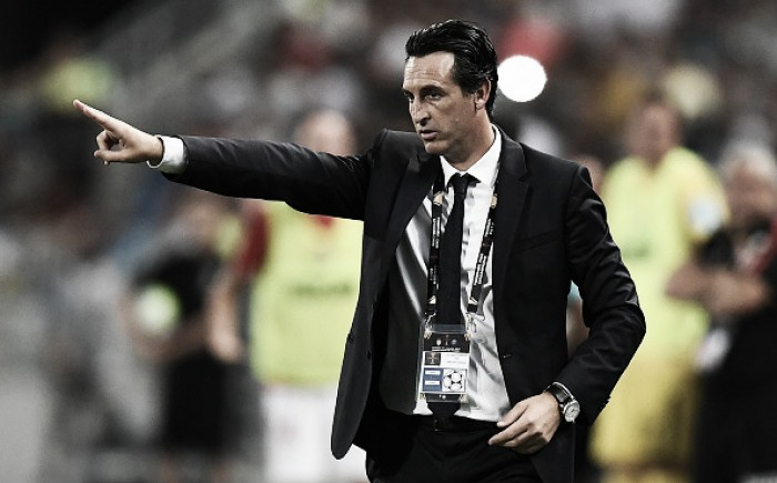 Campeão da SuperCopa Francesa, Unai Emery elogia atitude do PSG