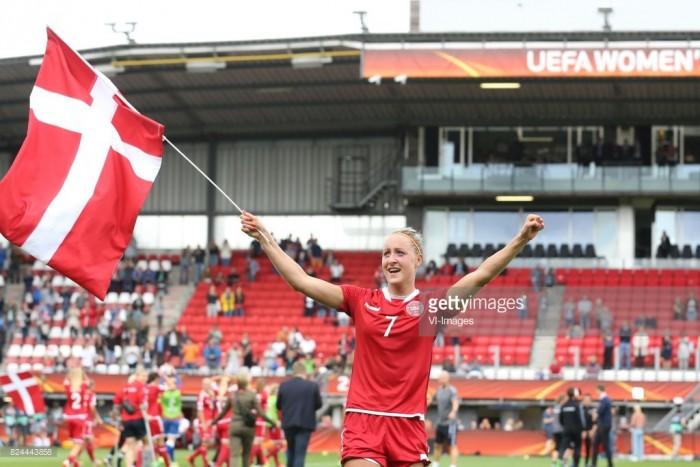 Euro 2017: Sanne Troelsgaard in disbelief over win