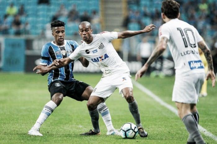 Sem Braz, Santos relaciona 23 para enfrentar o Grêmio, na Vila Belmiro