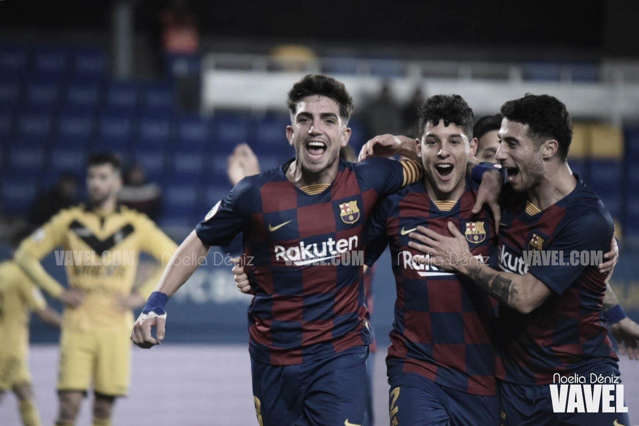 Monchu y Morer rescatan tres puntos ante el CF Badalona