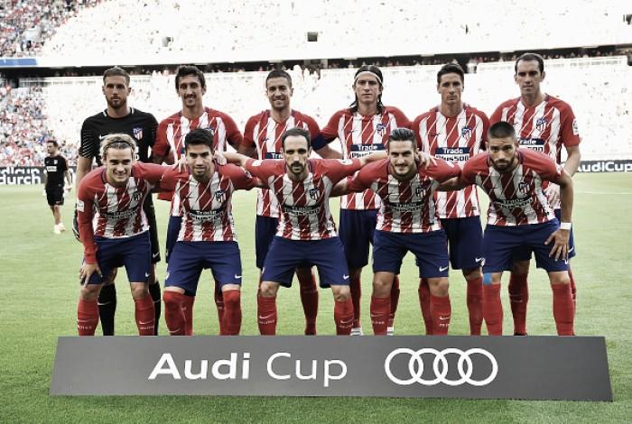 Atlético de Madrid vence Napoli de virada e avança à final da Audi Cup