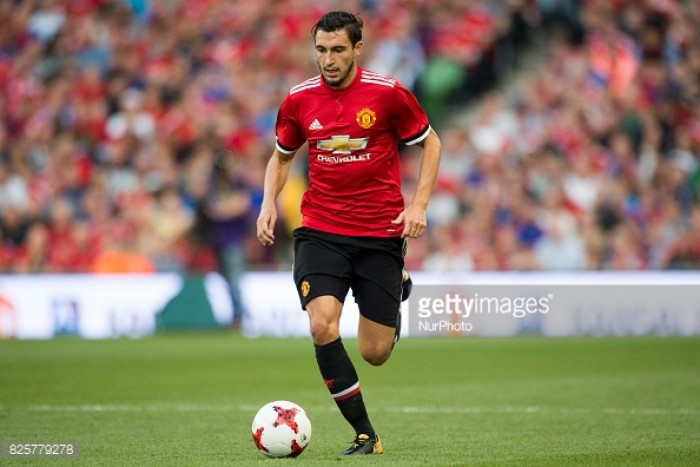 Matteo Darmian: I'm pleased Manchester United are not considering offers for me