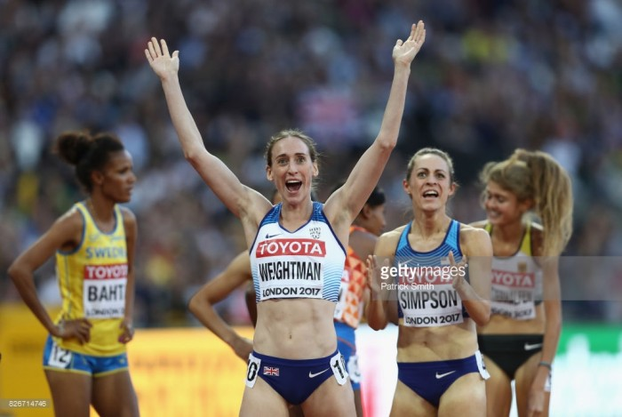British duo Laura Muir and Laura Weightman qualify for 1500m World Championship final