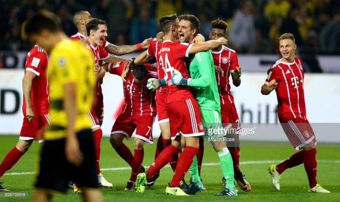 Borussia Dortmund (4) 2-2 (5) Bayern Munich: Sven Ulreich shootout hero for Bavarian giants