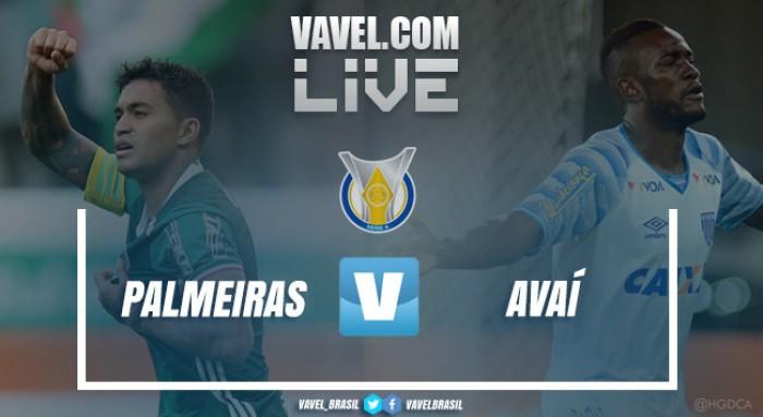 Resultado Palmeiras x Avaí pelo Campeonato Brasileiro 2017 (1-0)