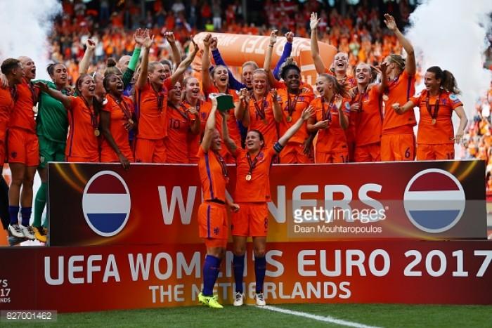 Euro 2017: Netherlands 4-2 Denmark – Oranje bag the trophy at home