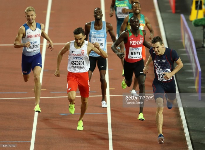 """Pierre-Ambroise Bosse takes unexpected 800m gold as """"gutted"""" Kyle Langford just misses out"""