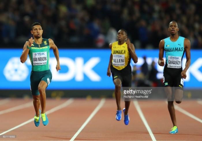 Wayde Van Niekerk cruises to 400m victory in the absence of Isaac Makwala