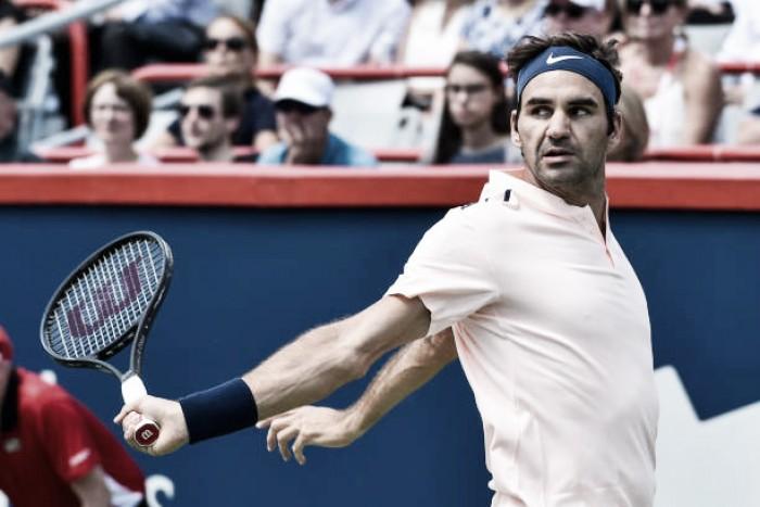 Roger Federer estreia com vitória avassaladora no Masters 1000 de Montréal