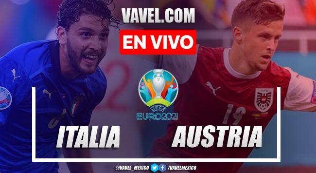 Resumen y goles: Italia 2-1 Austria en Octavos de Final de la Euro 2020