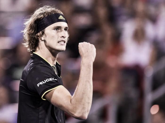 Em duelo da nova geração, Zverev vence Shapovalov e desafia Federer na decisão de Montréal