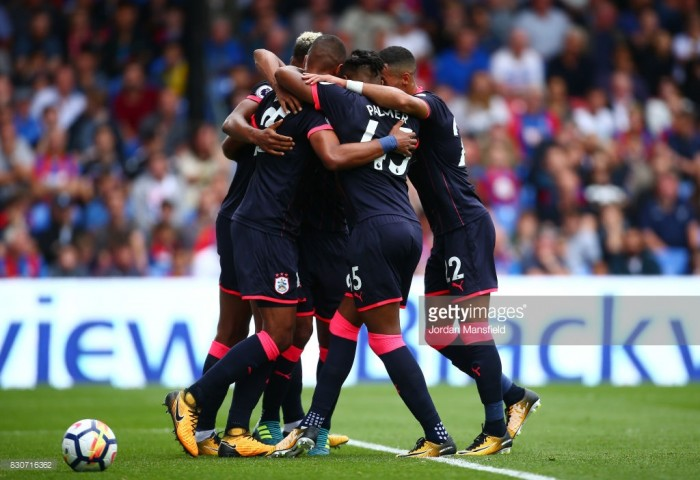 Crystal Palace 0-3 Huddersfield Town: Mounie's debut brace sinks Palace