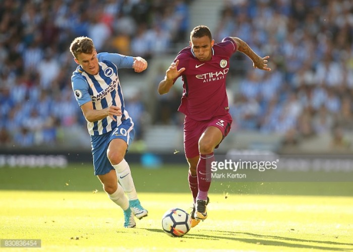 """Danilo """"very satisfied"""" with Manchester City's opening victory over Brighton"""