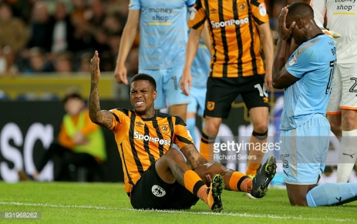 Hull City's Abel Hernández ruled out for six months with a ruptured achilles
