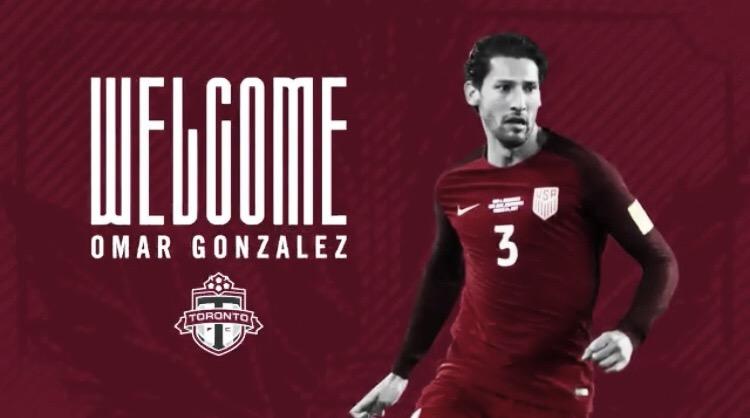 Omar Gonzalez ficha por Toronto FC