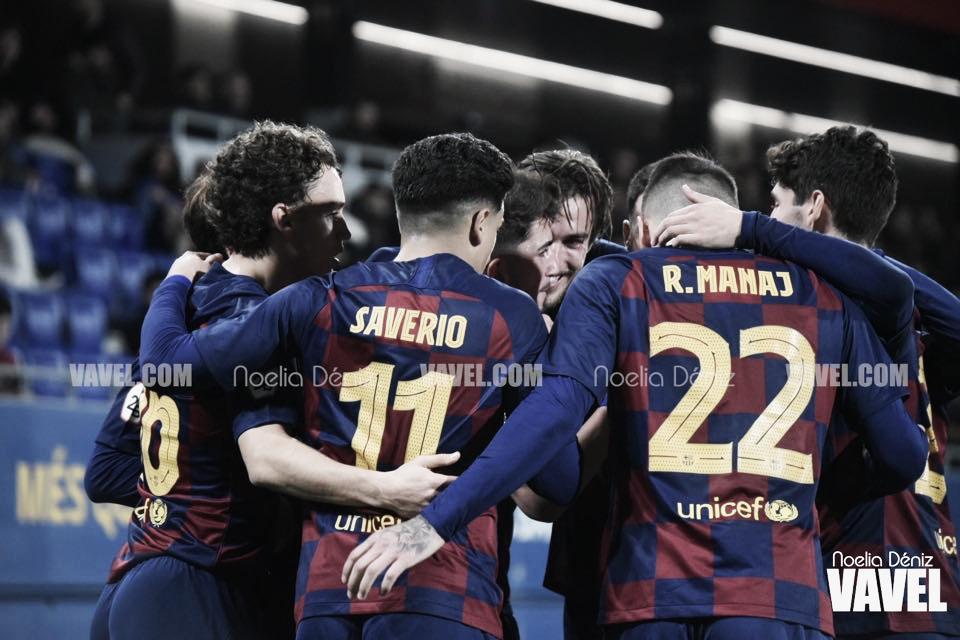Un indomable Barça B acaba con el Ejea