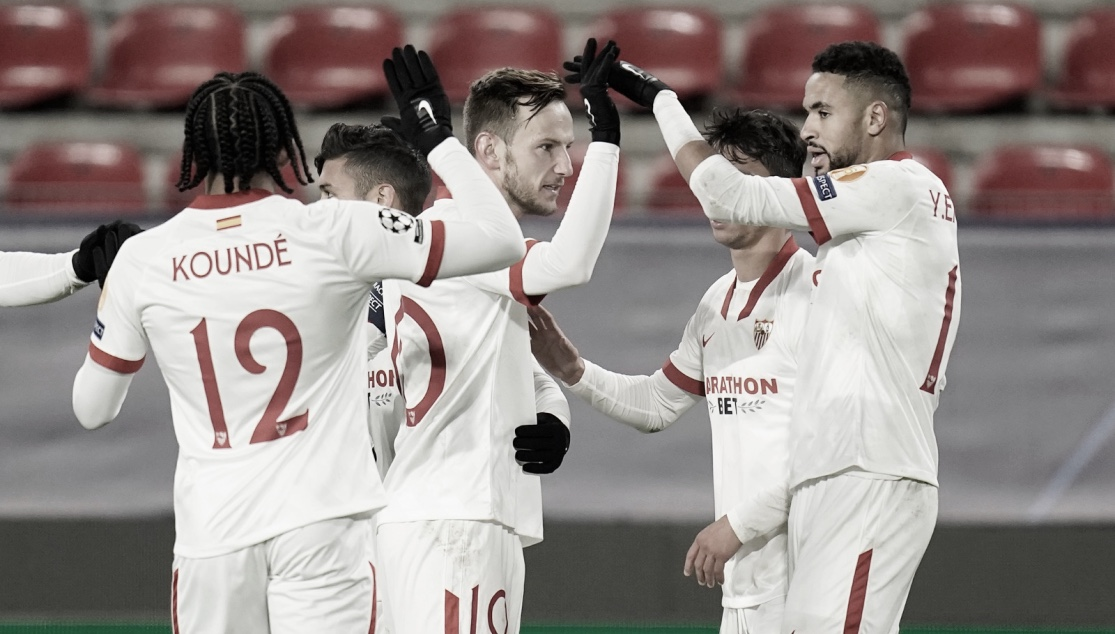 Lo más destacado del Rennes FC - Sevilla FC