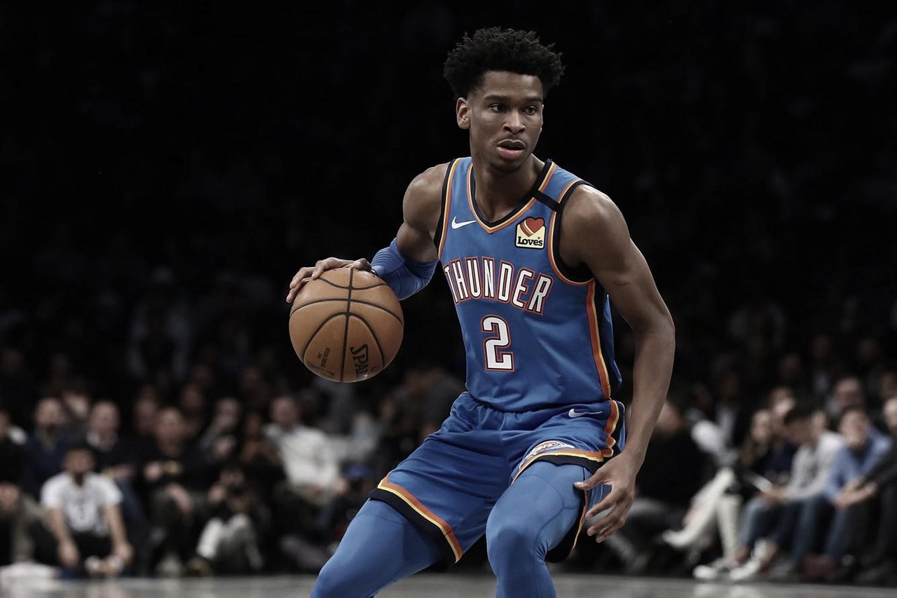 Gilgeous-Alexander replaces Rose in Skills Challenge