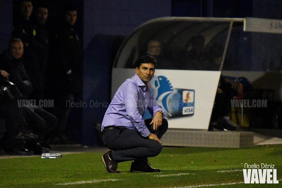 """José Aurelio Gay: """"Me voy muy satisfecho con la reacción del equipo"""""""