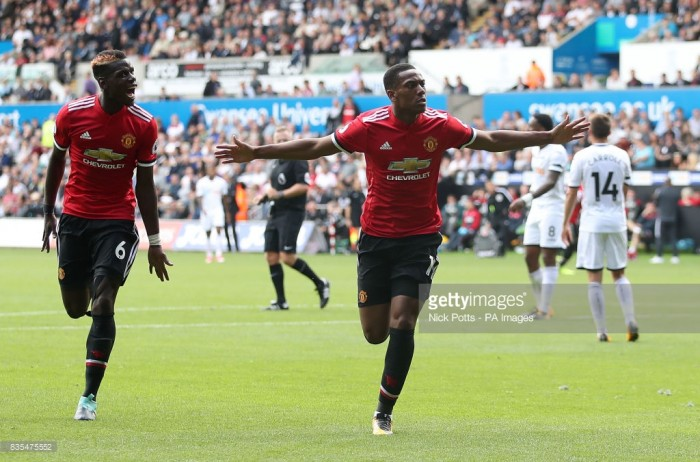Mourinho: Nothing can be better for Martial's confidence than 2 goals in 2 games