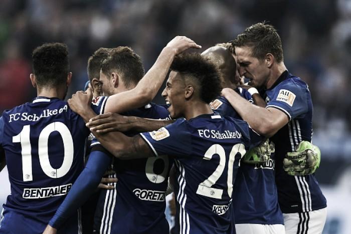 Schalke 04 faz valer mando de campo e vence RB Leipzig na abertura da temporada