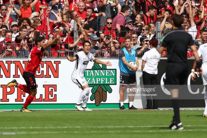 SC Freiburg 0-0 Eintracht Frankfurt: Tim Kleindienst goal disallowed as sides draw a blank
