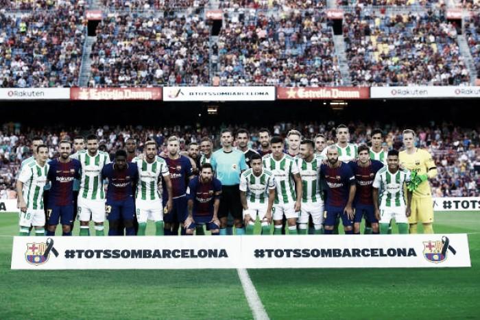 Em meio à crise, Barcelona se impõe e vence Real Bétis com facilidade