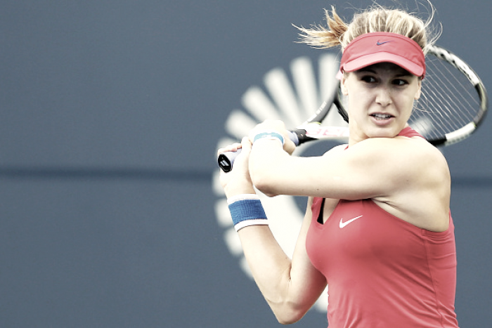 Bouchard advances at Connecticut Open, will face Radwanska