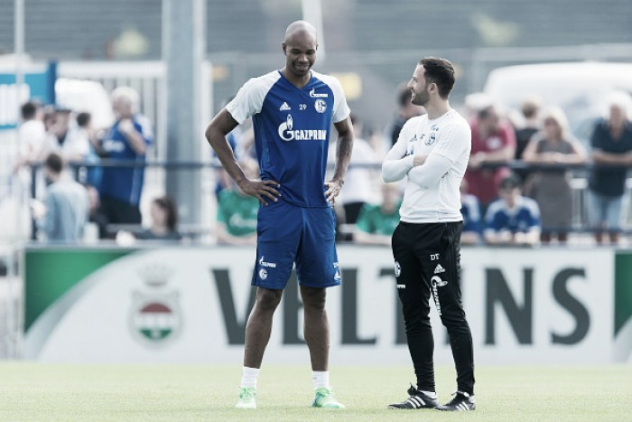 "Zagueiro do Schalke 04, Naldo exalta Domenico Tedesco: ""Melhor treinador que tive"""