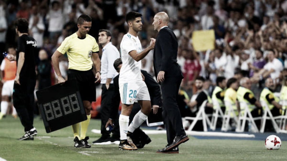 """Asensio revela idolatria de infância por Zidane: """"Tinha um pôster dele"""""""