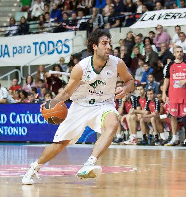 Berni Rodríguez, nuevo jugador del UCAM Murcia