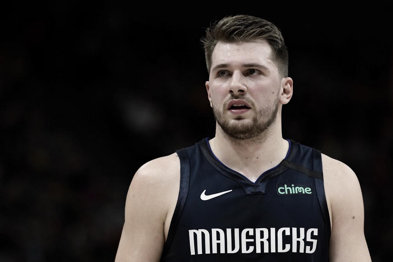 Doncic sidelined with ankle injury