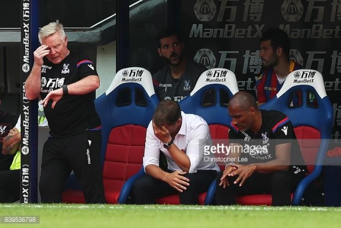 Crystal Palace sack manager Frank de Boer