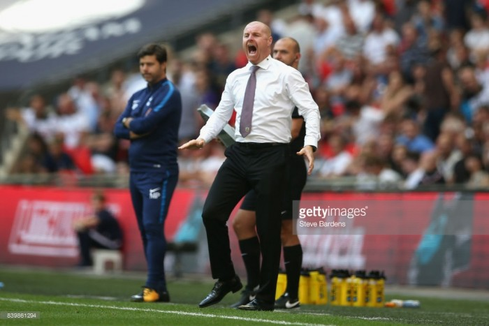 "Dyche and Wood elated following ""first class display"" against Spurs"