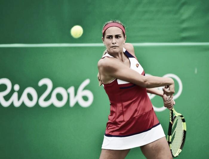 Monica Puig desbanca Angelique Kerber no tênis e conquista ouro inédito para Porto Rico