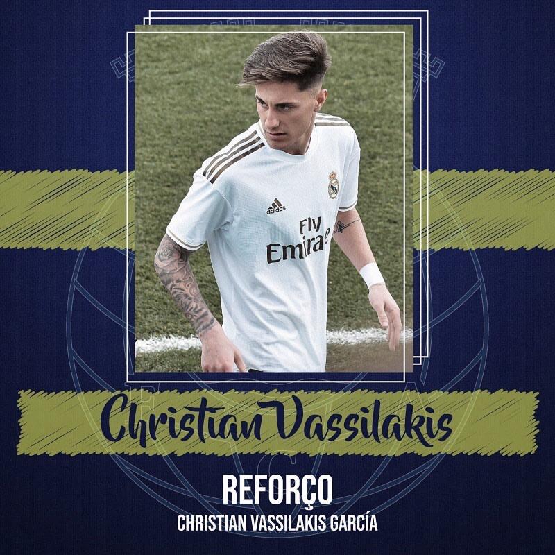 FC Arouca y Real Madrid sellan la cesión de 'Vassi'