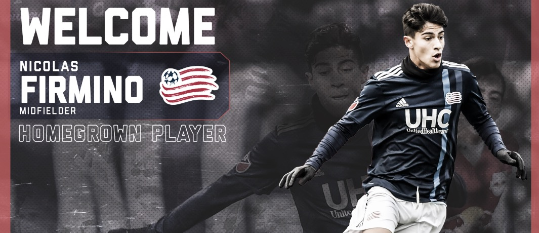 Homegrown Player para New England