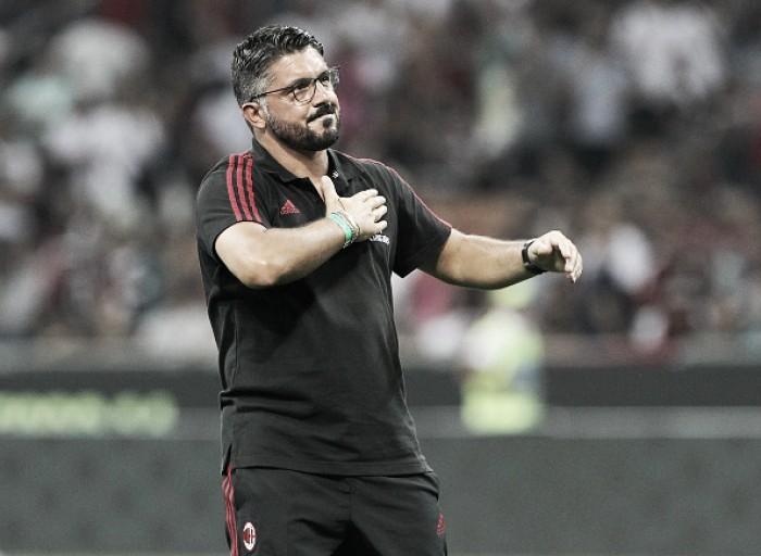 Gattuso, Montella e mudança de objetivos: má fase faz jornais divergirem sobre futuro do Milan