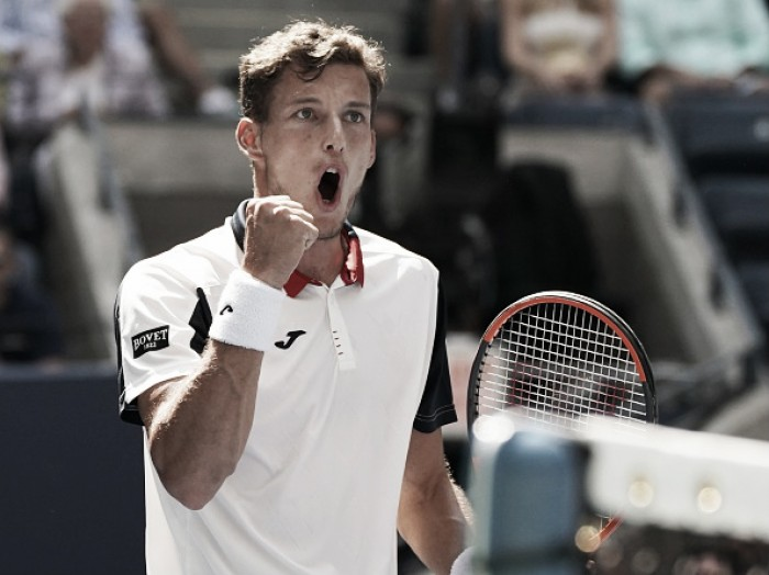 Ainda sem perder sets no US Open, Pablo Carreño Busta elimina Schwartzman e avança à semifinal