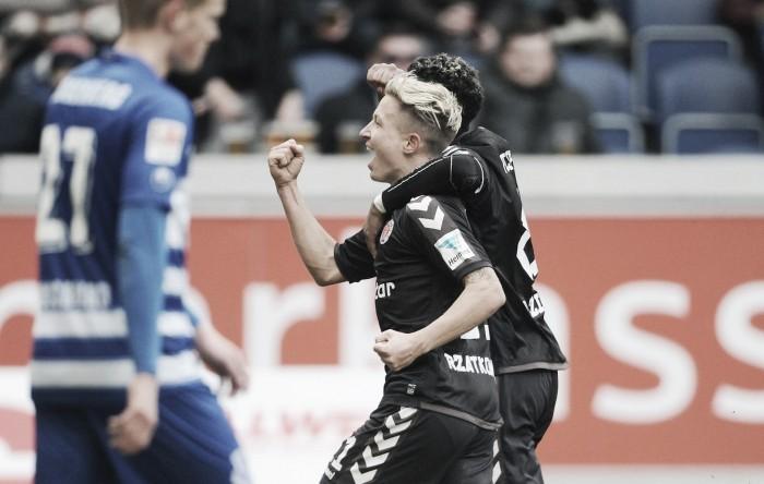 Fora de casa, St. Pauli vence lanterna Duisburg e continua próximo do G-3