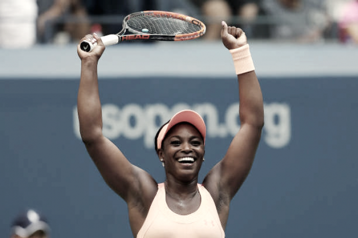 US Open: Sloane Stephens overcomes Anastasija Sevastova in thrilling last eight clash