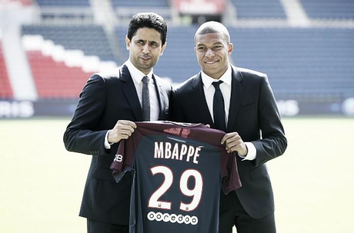 Apresentado, Mbappé nega que Neymar tenha influenciado sua ida ao PSG